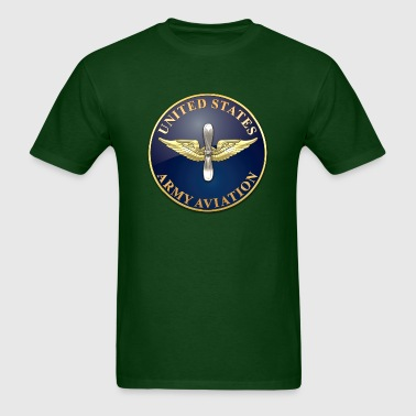 Aviation Branch Plaque - Men's T-Shirt