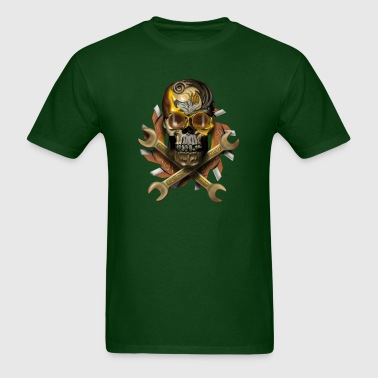 skull mechanik - Men's T-Shirt