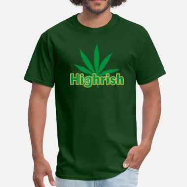 St Patricks Day Irish Cannabis - Men's T-Shirt