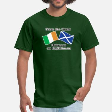 Gael Save the Gaels, harpoon an Englishman - Men's T-Shirt