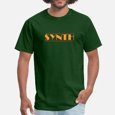 Synth-pop Synth Orange - Men's T-Shirt