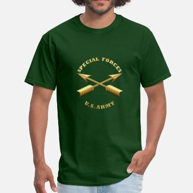 Backend Army SF Branch Insignia - Men's T-Shirt