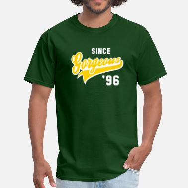 Established 1996 Gorgeous SINCE 1996 Birthday Anniversary - Men's T-Shirt