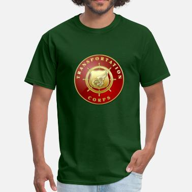 Army Transportation Transportation Corps Branch Plaque - Men's T-Shirt