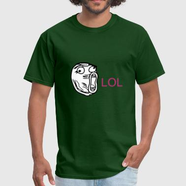 LOL - internet meme - Men's T-Shirt