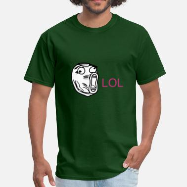 Derp Smile LOL - internet meme - Men's T-Shirt