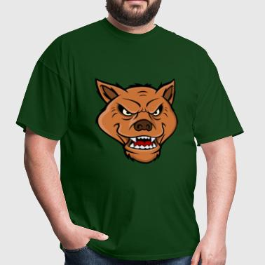 Hyena Head - Men's T-Shirt