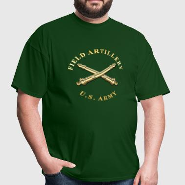 Field Artillery Branch Plaque - Men's T-Shirt