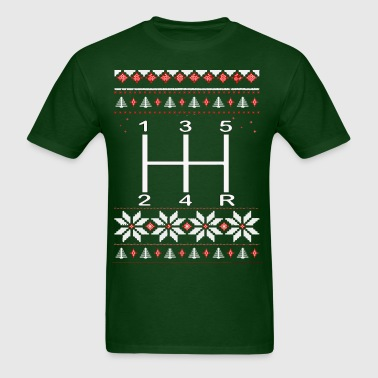 Gear Shift Christmas - Men's T-Shirt