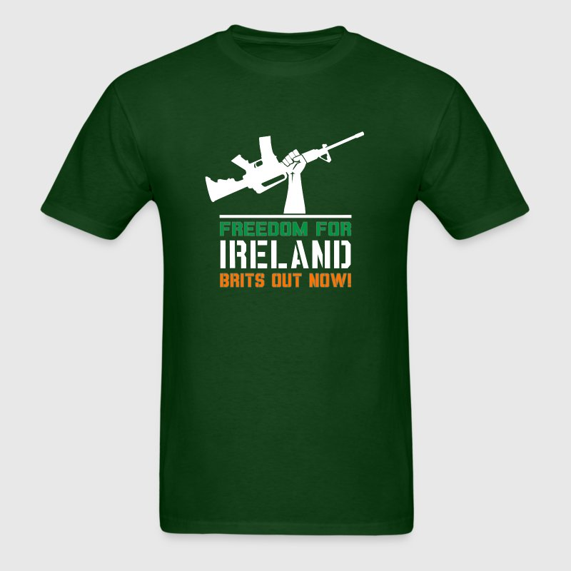 Freedom for Ireland! - Men's T-Shirt