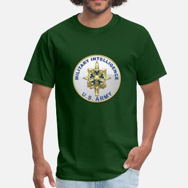 Military Intelligence Corps MI Branch Plaque - Men's T-Shirt