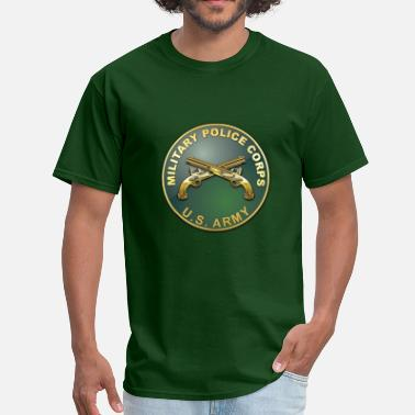 Military Police MP Branch Plaque - Men's T-Shirt