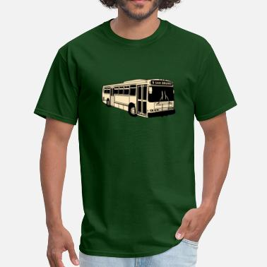 San Bruno 9 San Bruno Muni Bus - Men's T-Shirt