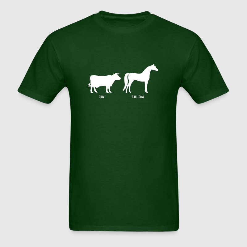 Cow vs Tall Cow - Men's T-Shirt