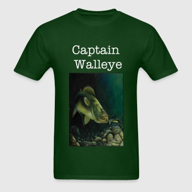 Captain Walleye Tee - Men's T-Shirt