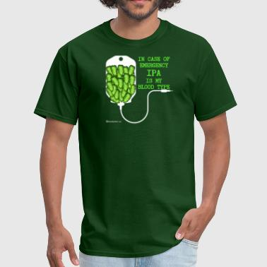 IPA Is My Blood Type - Men's T-Shirt