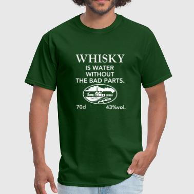 Scotch Whisky is water - Men's T-Shirt