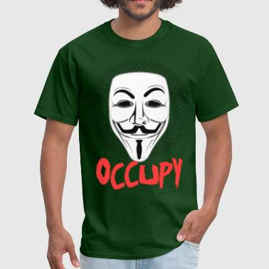 Occupy - Guy Fawkes Mask - Men's T-Shirt