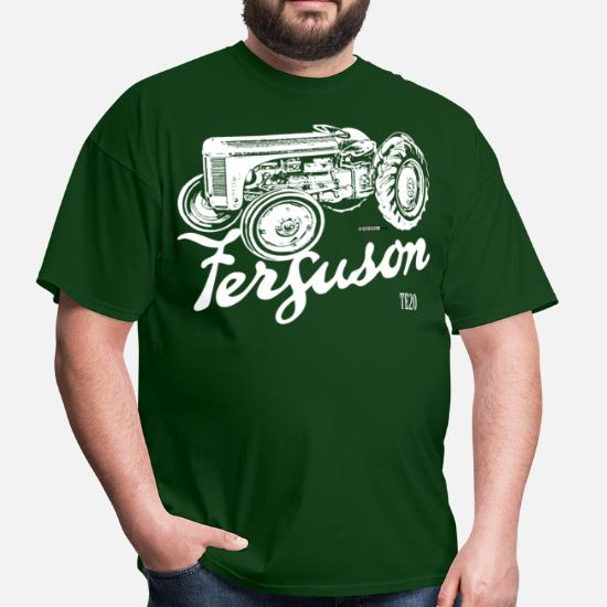 Classic Ferguson TE20 script and illustration Men's T-Shirt