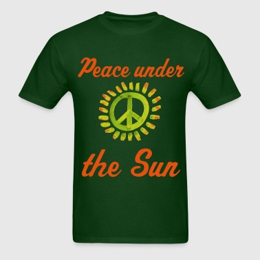 peace_green - Men's T-Shirt