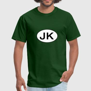 Jeep Jk Jeep JK Wrangler Oval - Men's T-Shirt