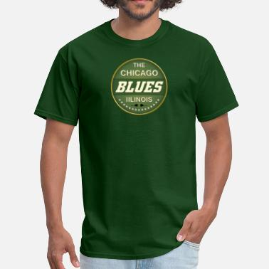 Music Blues blues music - Men's T-Shirt