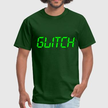 ‏‏Glitch Green - Men's T-Shirt
