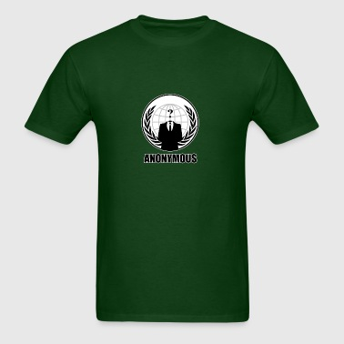 anonymous sign - Men's T-Shirt