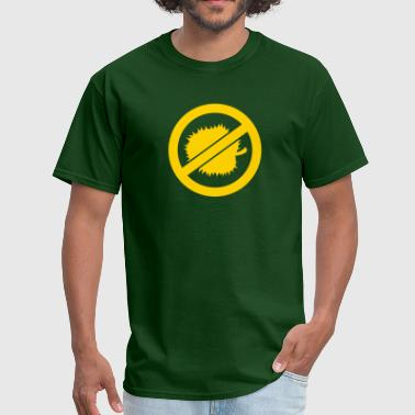 NO DURIAN (spikey south east ASIA fruit) - Men's T-Shirt