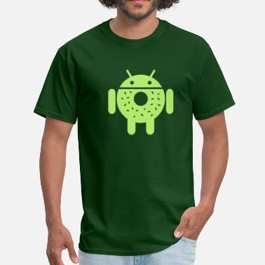 Android Open Source Droid Donut 2 (only) - Men's T-Shirt
