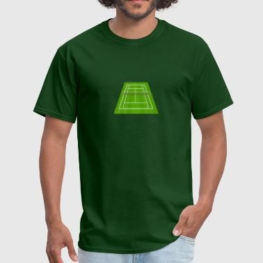 Tennis Court Tennis court - Men's T-Shirt