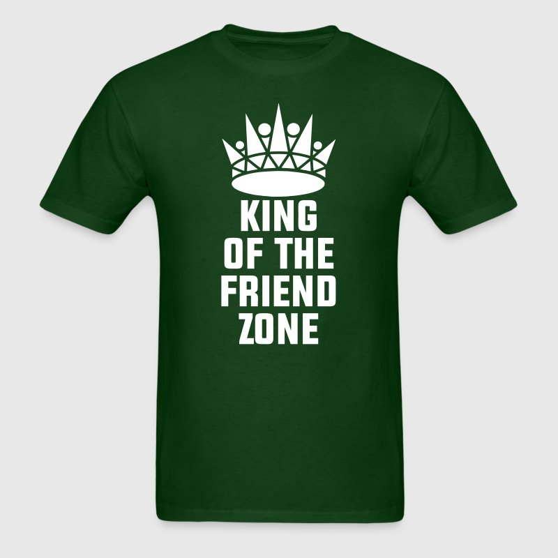 King of the Friend Zone - Men's T-Shirt
