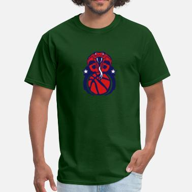 Cobra Basketball basketball sports club logo cobra snake - Men's T-Shirt