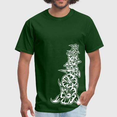 flower_tower_white - Men's T-Shirt