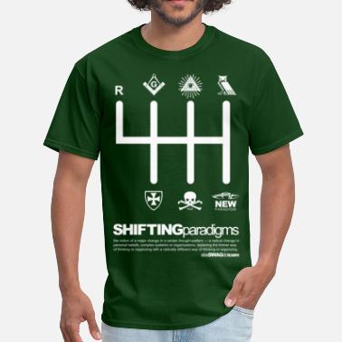 07819251 Freemason SHIFTING Paradigms - Men's T-Shirt