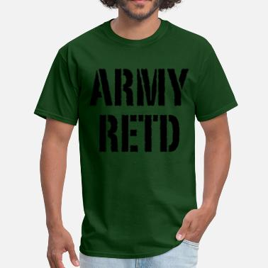 Army Base Army retd - Men's T-Shirt