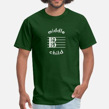 Indicator Viola Is The Middle Child - Men's T-Shirt