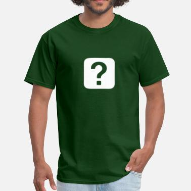 Question Question Mark - Question - Men's T-Shirt