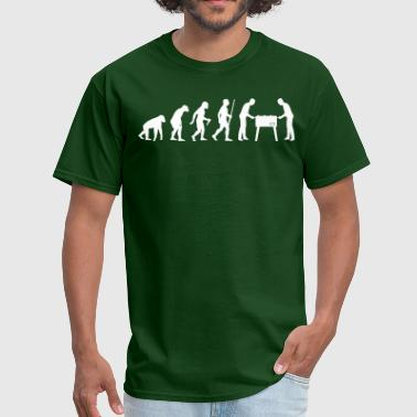 Football Table Kicker Evolution - Men's T-Shirt