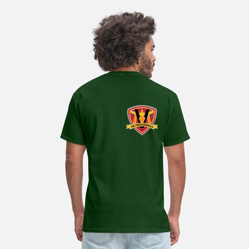 Professionals T-Shirts - 1st Battalion 26th Marines - Men's T-Shirt forest green