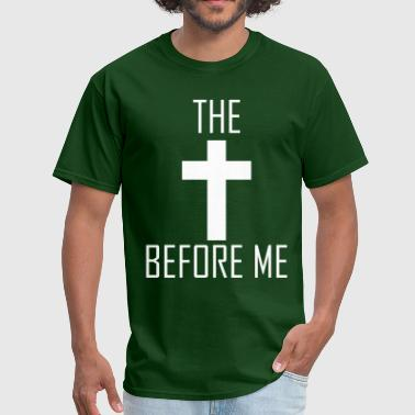 The Cross Before Me / The World Behind Me - Men's T-Shirt
