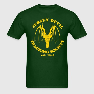 Jersey Devil Tracking Society  - Men's T-Shirt
