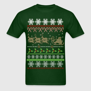 Ugly Christmas Sweater Inspired - Men's T-Shirt