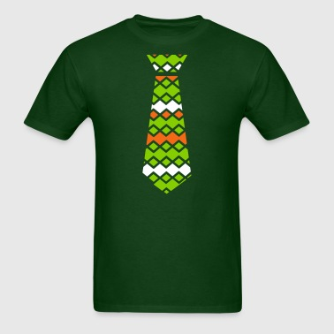 st.patrick's day necktie - Men's T-Shirt