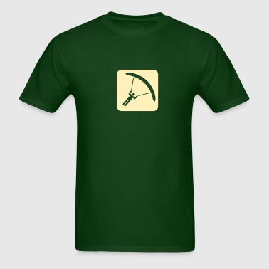 paragliding - Men's T-Shirt