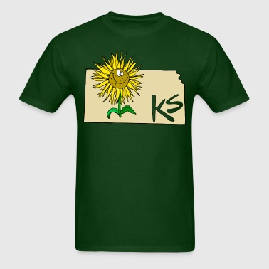 Kansas - Men's T-Shirt