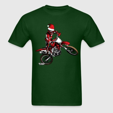 Dirtbiker Christmas - Men's T-Shirt