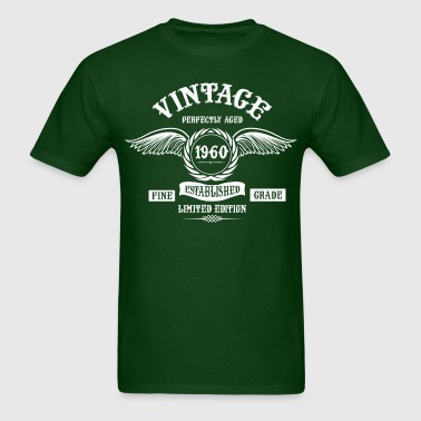 Vintage Perfectly Aged 1960 - Men's T-Shirt