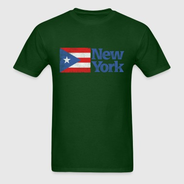 New York Puerto Rican Flag Apparel - Men's T-Shirt