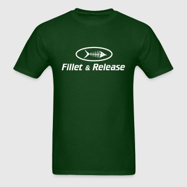 Fillet and Release - Men's T-Shirt